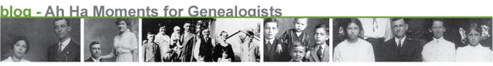 ah ha! moments for genealogists blog